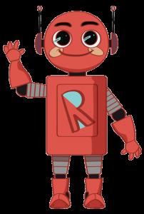 Rafi Robot waving